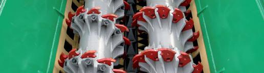Crabo 5000 træneddeler