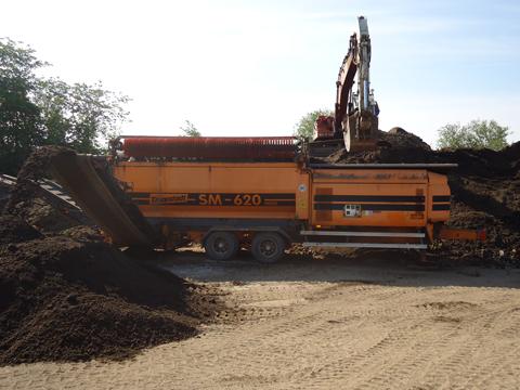 Doppstadt SM 620 Tromlesorter sorterer alle slags materialer fra hinanden